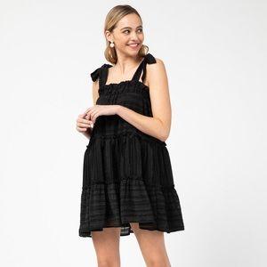 entro black mini dress